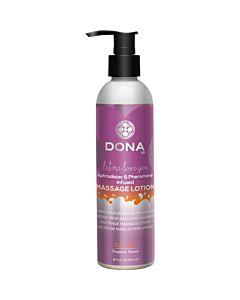 Dona locion de masaje perfumada sassy 235 ml