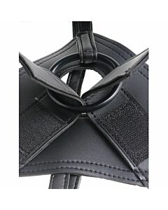 King cock strap-on harness w/8