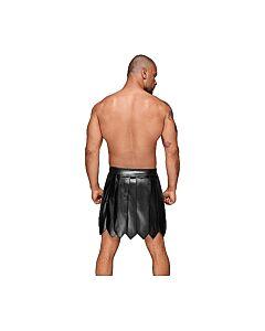 Falda gladiator para él - negro