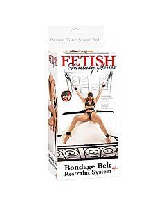 Fetish fantasy kit ataduras para la cama