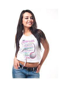 Camiseta pruebas con boligrafo ella