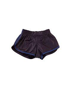 Pantalón cuero hombre-azul