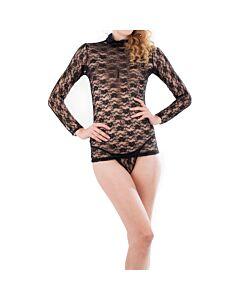 Intimax - mini vestido sosÚa negro