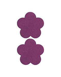 Adhesivos para pezones flor lila