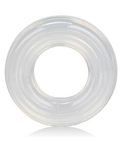 Anillo grande transparente de silicona