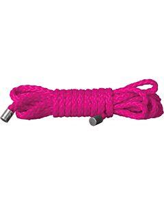 Ouch cuerda kinbaku rosa 15 m
