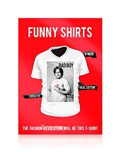 Camiseta divertida bad boy