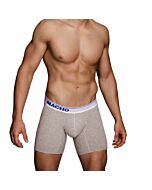 Macho - mc087 boxer largo gris talla l