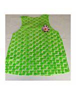Disfraz mujer corazones verde