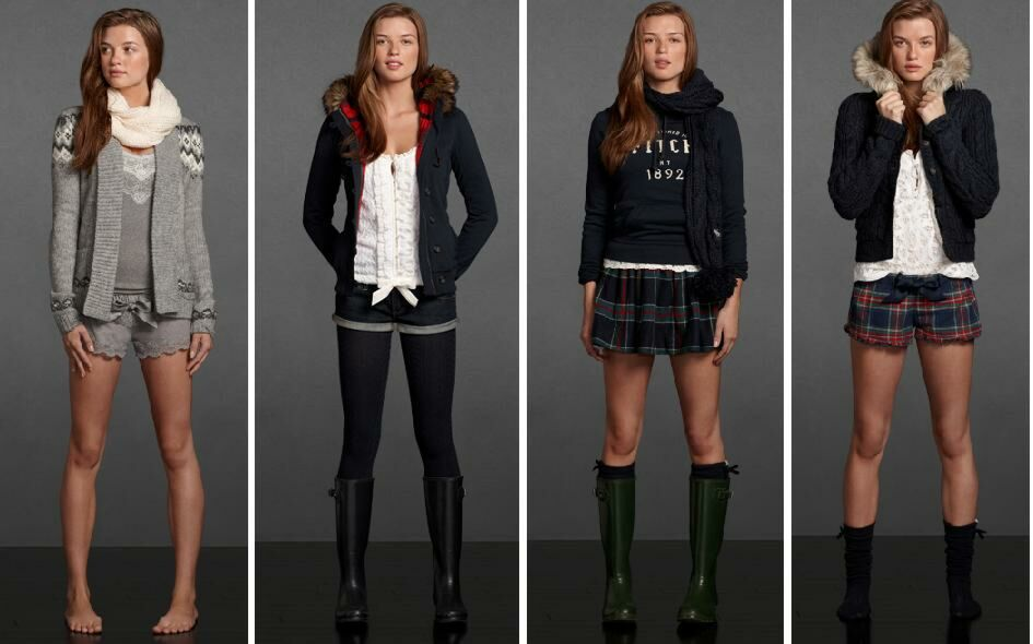 Chicas de Abercrombie and Fitch